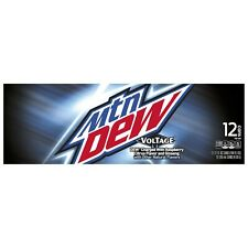 Mtn Dew Voltage 12 oz Cans (Pack Of 12)