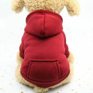 Pet Winter Coat Cat Sweater Clothes Puppy Dog Jacket Clothing Warm Costume Cozy