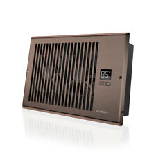 """AIRTAP T6, Quiet Register Booster Fan, Heating / Cooling 6 x 10"""" Registers Brown"""