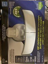 Home Zone Es00618G Mark 3 Led Outdoor Security Light with Motion Sensor - White