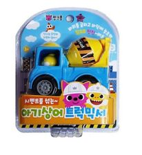 Pinkfong Mini Heavy Vehicle Equipment Truck Mixer Ready Mixed Concrete Toy