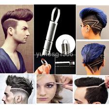 1 Set Practical Hair Styling Beards Razor Salon Engraved&10 Blades US