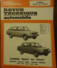 NEUF Revue technique LANCIA BETA TREVI HPE 1300 1400 1600 1800 2000RTA CIP 3742