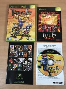 Kung Fu Chaos - Original Microsoft Xbox (2003) - COMPLETE - EXCELLENT CONDITIOIN