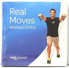 BRAND NEW SEALED Real Moves (Workout DVD'S) by Real Appeal 2015 Cardio Abs