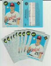 Mike Mussina rookie card, 1990 Classic, Baltimore Orioles, Baseball Hall of Fame