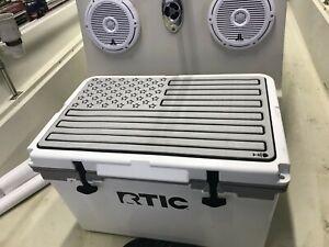 Marine Grade Foam Cover for RTIC 52 Ultra-Light (GREY/BLACK FLAG)