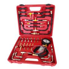 Manometer Fuel Injection Pump Pressure Injector Tester Test Gauge Kit 0-140 PSI