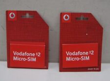 2 x $2 Vodafone Micro - Sim