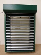 Tilt & Turn Window Aluminium Clad Timber 800x1195mm FW008 Double Glazed & Blinds
