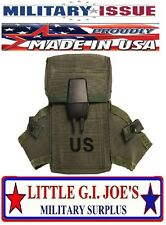 (1) NEW Military Issue Ammo Pouch Ammunition Pouch With Alice Clips .223 or 5.56