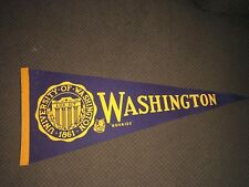 Washington Huskies Pennant 1950's