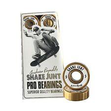 SHAKE JUNT - ANDREW REYNOLDS PRO SKATE BEARINGS SKATEBOARD BAKER NEW GOLD