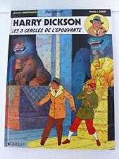 HARRY DICKSON ZANON/VANDERHAEGUE  LES 3 CERCLES DE L'ÉPOUVANTE DARGAUD EO 1990