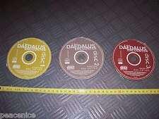 Dédalo clásico encuentro 3 Discos Vintage Juego De Software Mac Apple Macintosh-Cds