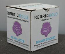 New Keurig Kold G360 Prime & Care Pod for Soda Maker