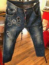 Dsquared2 Jeans with Buttons Size 36 x 29 Made in Italy