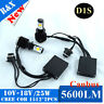 Canbus CREE 50W 5600LM 6000K D1S D2S D2R Auto Car LED Headlight Conversion Kit