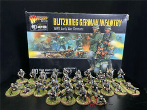28mm DPS Painted WW2 Bolt Action Blitzkrieg German Infantry ,Warlord Games 3151