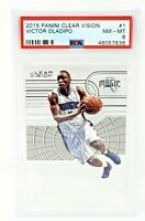 2015 Clear Vision Pacers VICTOR OLADIPO Basketball Card PSA 8 NM-MINT / Pop 1 !