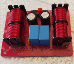150W 3 Way Hi-Fi Speaker Frequency Divider Crossover Filters Treble Bass Medi Wj