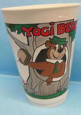 Vintage 1976 Yogi Bear & Ranger Smith Plastic Slurpee Cup 7-11 (Seven Eleven) C