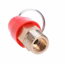 """2 X 1/4"""" Brass Air Compressor Safety Relief Valve Pressure Release Regulator AU"""