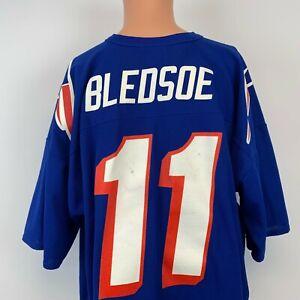 Logo Athletic Drew Bledsoe New England Patriots Replica Jersey Vtg 90s NFL. 2XL