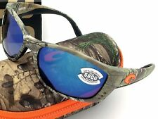 Costa Del Mar FISCH Realtree XTRA Camo & 580 Blue Mirror Glass 580G Brand NEW
