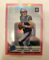 Jarrett Stidham 2019 Panini Optic Pink Rated Rookie Prizm - #157