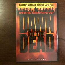 Dawn Of The Dead Dvd Unrated Director's Cut Ving Rhames Mekhi Phifer zombies