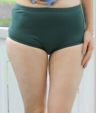 David Luke School Gym Knickers sze 12 30in Netball  PE/Games/ Briefs  Green