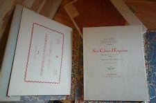 Le Cahier D'Esquisses de Francis LAINE 68 planches fac-similé CURIOSA NUM 1923