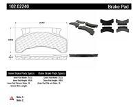 Disc Brake Pad Set-C-TEK Metallic Brake Pads Front,Rear Centric 102.02240