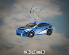 Subaru WRX STi Hatchback  1/64th Christmas Ornament Fast and Furious 7 Race Car