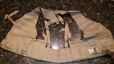 Used MOLLE II Brown FIGHTING LOAD CARRIER