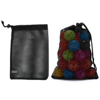 mesh nets pouch golf balls table tennis 36 balls carrying holder storage bags  X