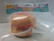 Orb Soft'n Slo Squishies Ultra Series 3 Jumbo Hamburger Play Food Toy Ages 8+