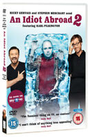 An Idiot Abroad: Series 2 DVD (2011) Karl Pilkington cert 15 2 discs ***NEW***