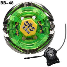 Beyblades BB48 Flame Libra Metal Fusion Master 4D Bottom System + Light Launcher