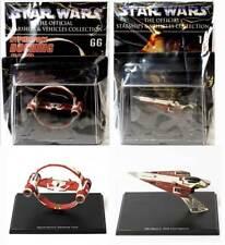 Deagostini Naves Y Vehículos Star Wars Obi Wan De Colección-Luchador & Anillo