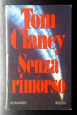 Tom Clancy, Senza rimorso, Ed. Rizzoli, 1993