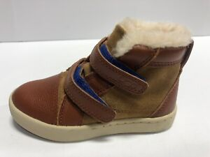UGG Brown Slip On Casual Winter Boots, Toddler Boy's Size 9M