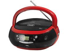STEREO Portatile CD Lettore CD * Radio FM AM * riproduzione USB mp3 * AUX-IN * Rosso