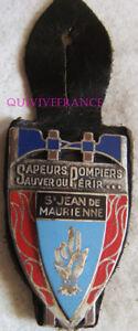 IN11633 - INSIGNE SAPEURS POMPIERS  SAINT JEAN de MAURIENNE, 73
