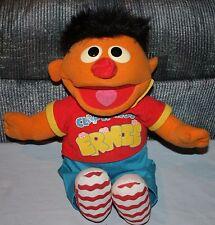 Ernie CLAP HANDS Barrio Sésamo Peluche TYCO 1998 43.2cm cantante Happy & YOU