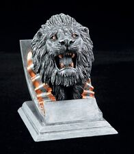 "Lion, 4"" tall Resin School Mascot Trophy, Free Engraving"