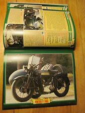 Atlas des motos de collection 110 modèles 1900-1940 Motorcycles France UK USA