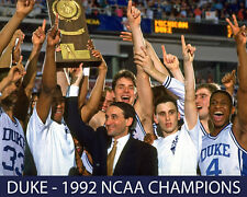 Duke - 1992 NCAA Baskteball Champions - 8x10 Color Photo