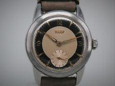 "Tissot ""Bullseye"" doubletone 35mm from 1954, cal 27B-1, serviced-perfect beauty!"